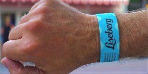 Armbandje geeft toegang tot alle attracties in Liseberg - Foto: © Adri van Esch
