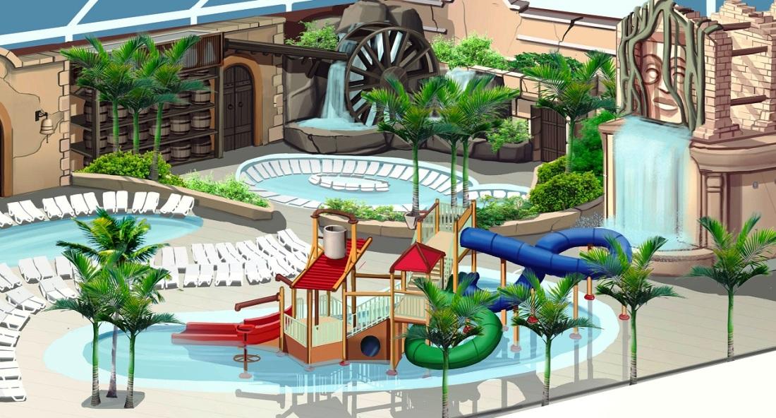 Slagharen Indoor Aqua Mexicana overzicht