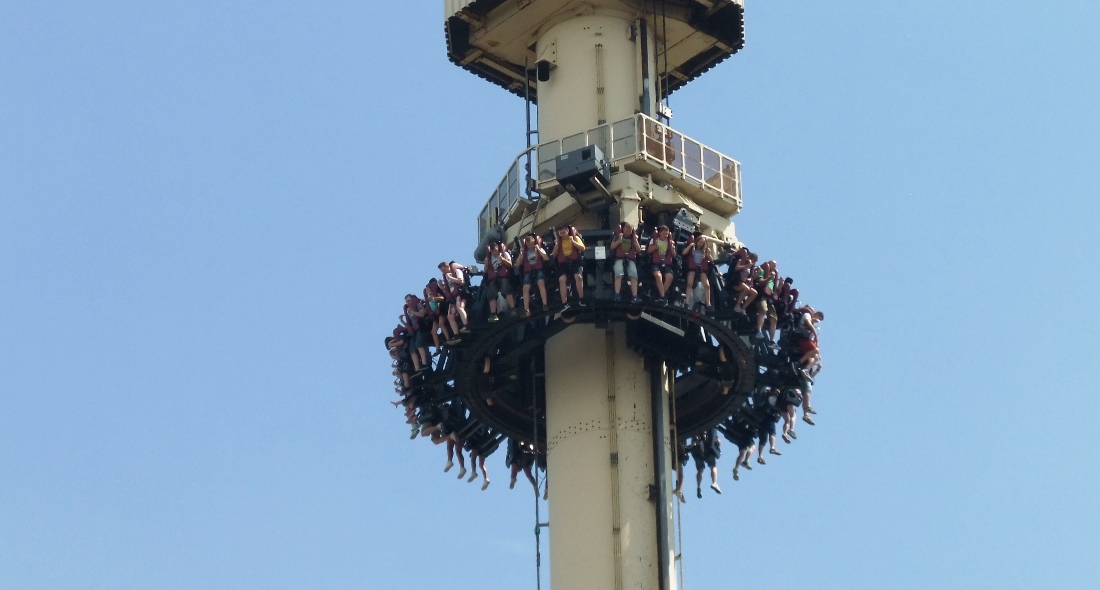 The High Fall in Movie Park Germany