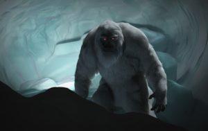 De nieuwe Abominable Snowman in Disneyland - Concept: (c) Walt Disney Imagineering