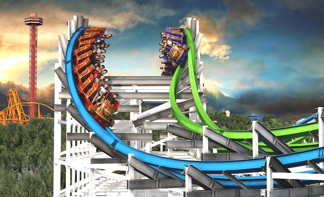 Twisted Colossus in Magic Mountain