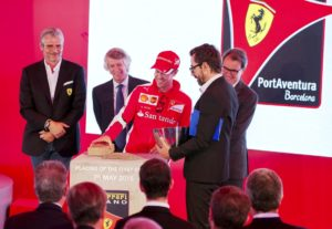 Ferrari Land: eerste steenlegging