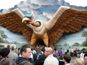 Vogel Rok in de Efteling - Foto: Parkplanet