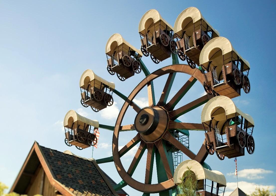 Chuck Wagon in Attractiepark Slagharen