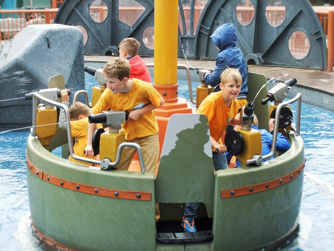 Expeditie Nautilus in Attractiepark Slagharen
