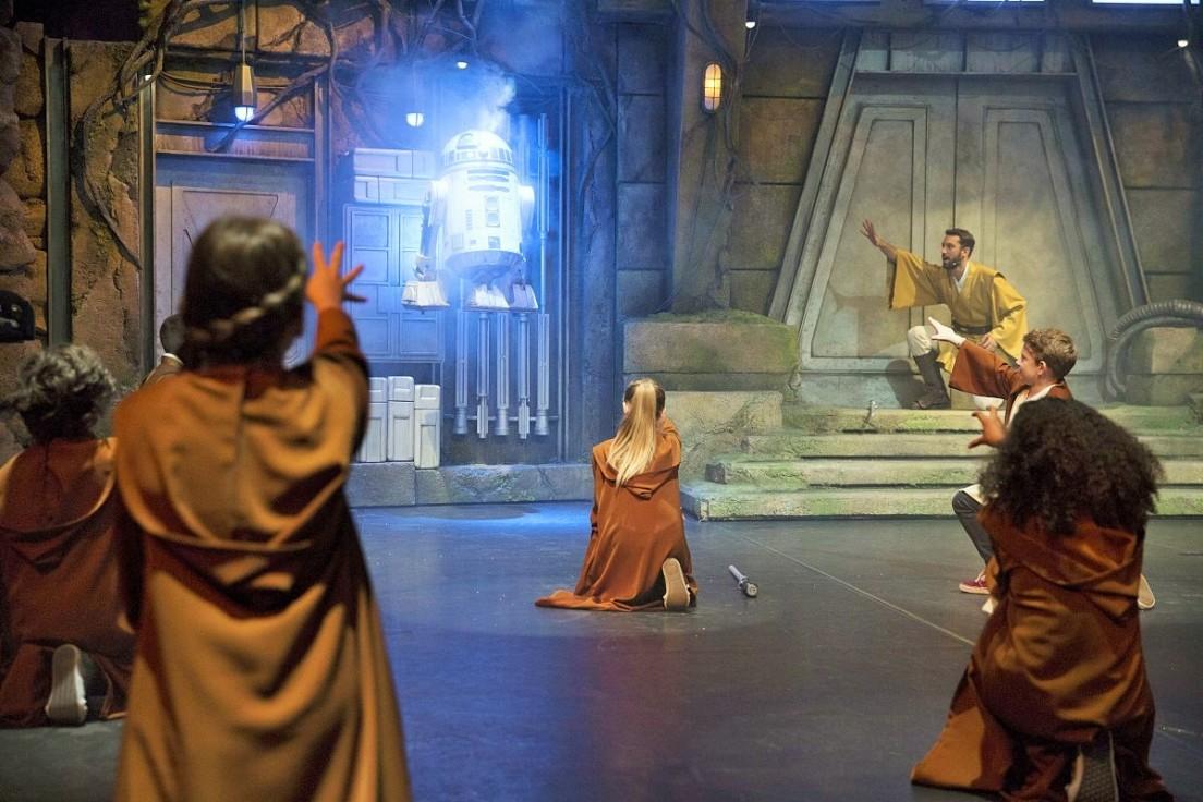 Jedi Training Academy in Disneyland Paris - Foto: (c) Disney