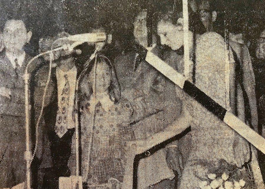 De opening van het Diorama in de Efteling door Els Pieck in 1971 - Beeld uit eigen collectie