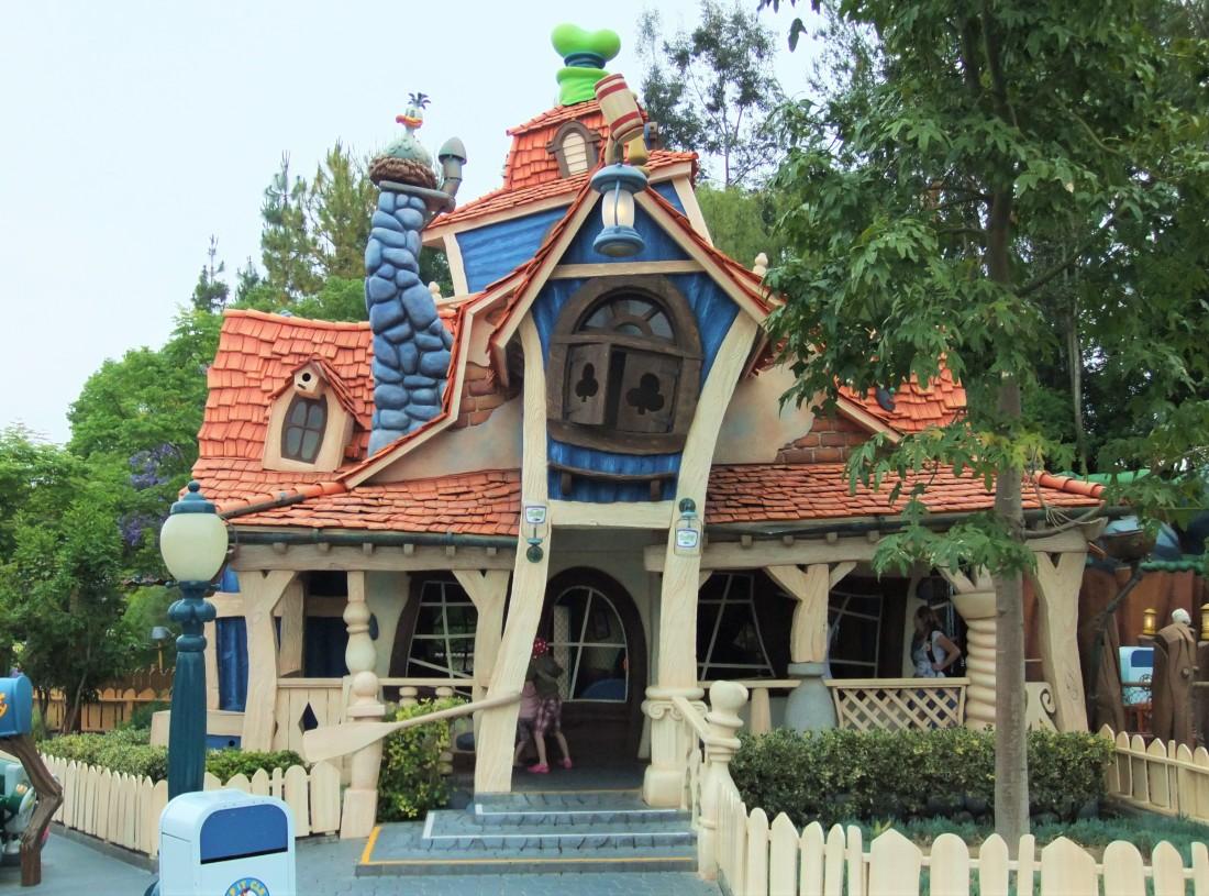 Goofy's Playhouse in Mickey's Toontown in Disneyland - Foto: (c) Adri van Esch