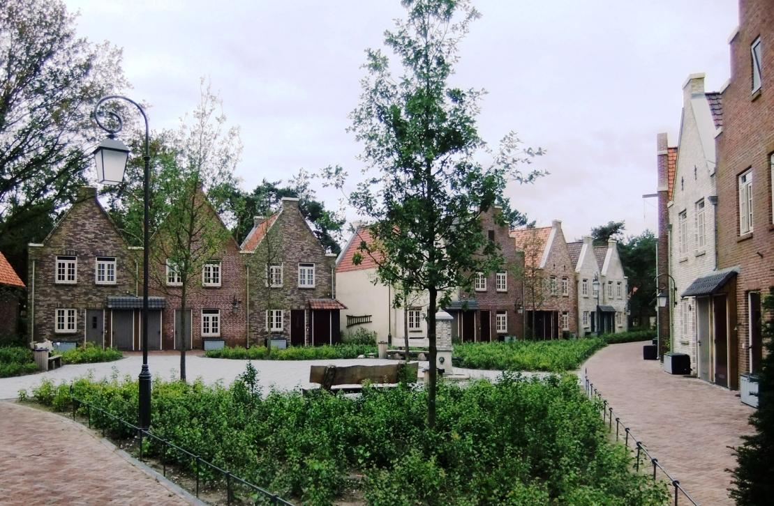 Dorpshuysen in Efteling Bosrijk - Foto: © Adri van Esch
