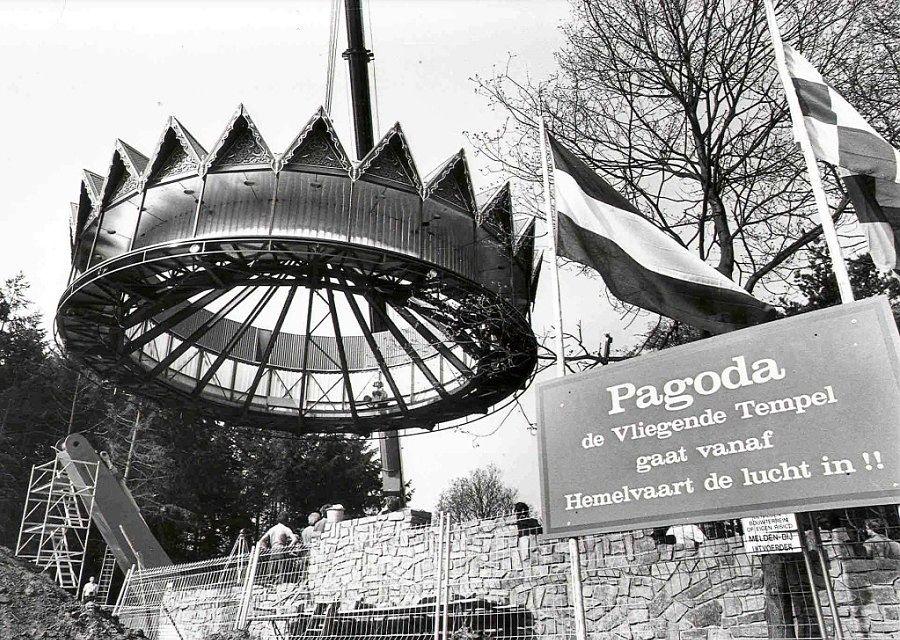1987: Bouw van de Pagoda in de Efteling