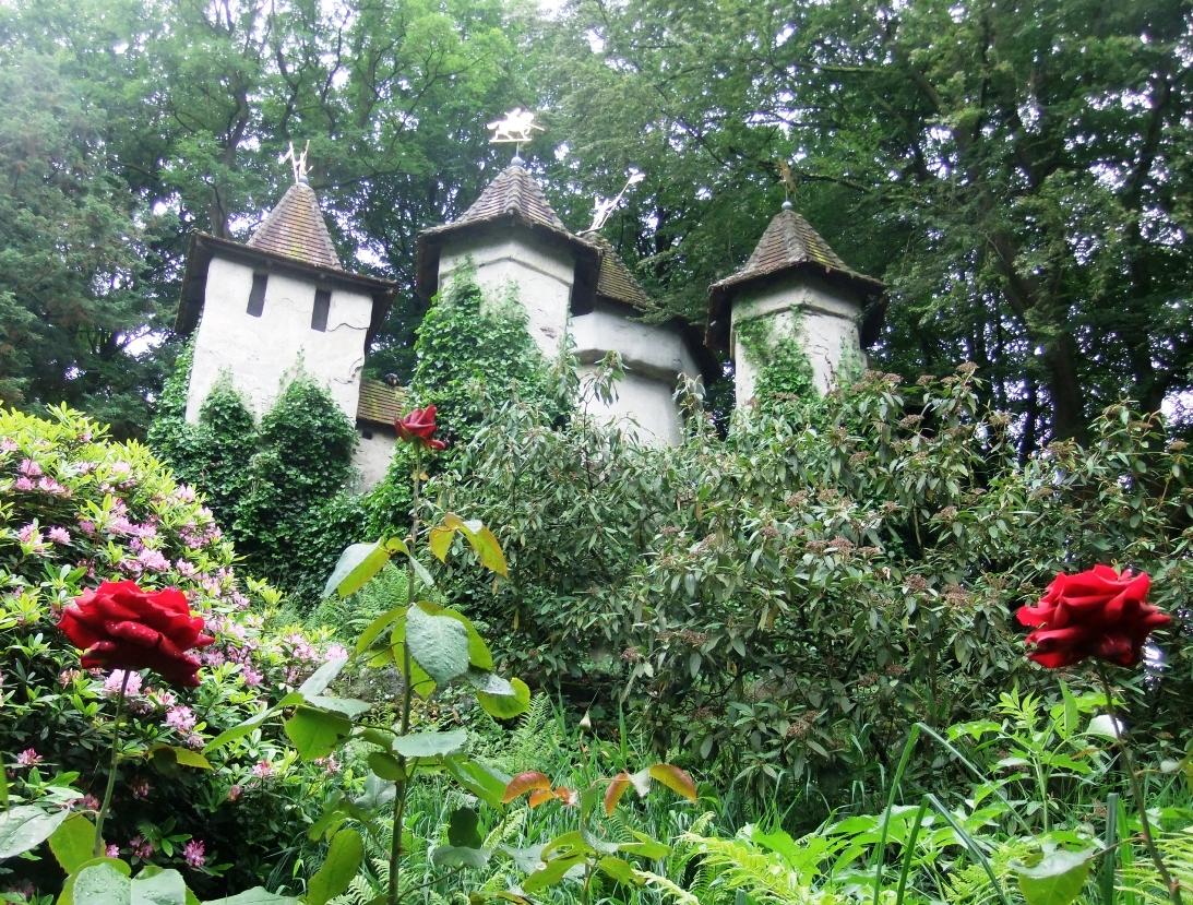 Het kasteel van Doornroosje in de Efteling - © Foto: Adri van Esch