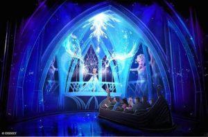 Frozen Ever After in Epcot - Tekening: Disney / Michel den Dulk