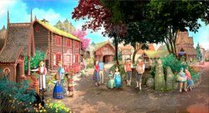 Royal Summerhus in Epcot - Artist impression: (c) Disney / Michel den Dulk