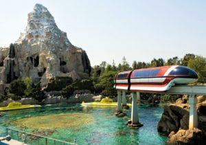 Matterhorn, Submarines en monorail in Disneyland - Foto: Disney / Paul Hiffmeyer