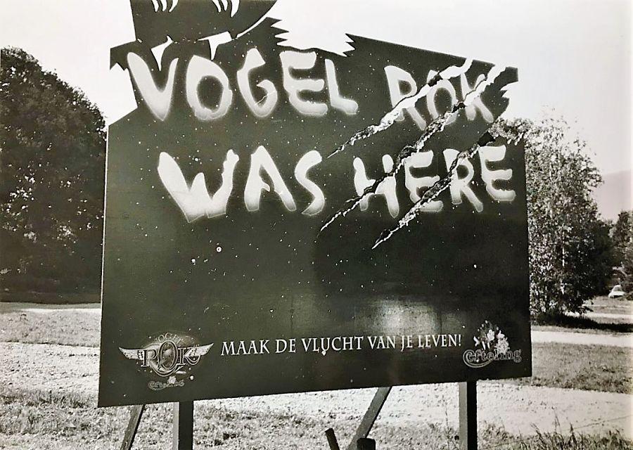 Vogel Rok was here - reclame in de Efteling