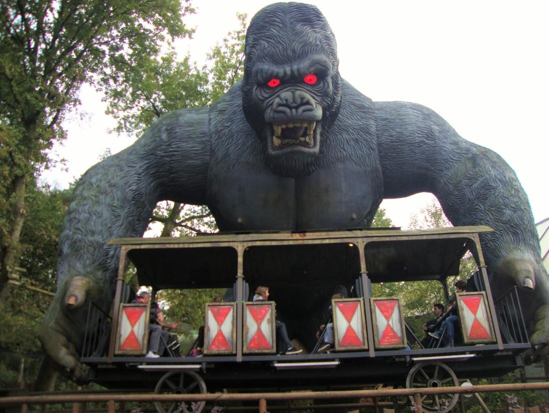 King Kong in Bobbejaanland - Foto: (c) Adri van Esch