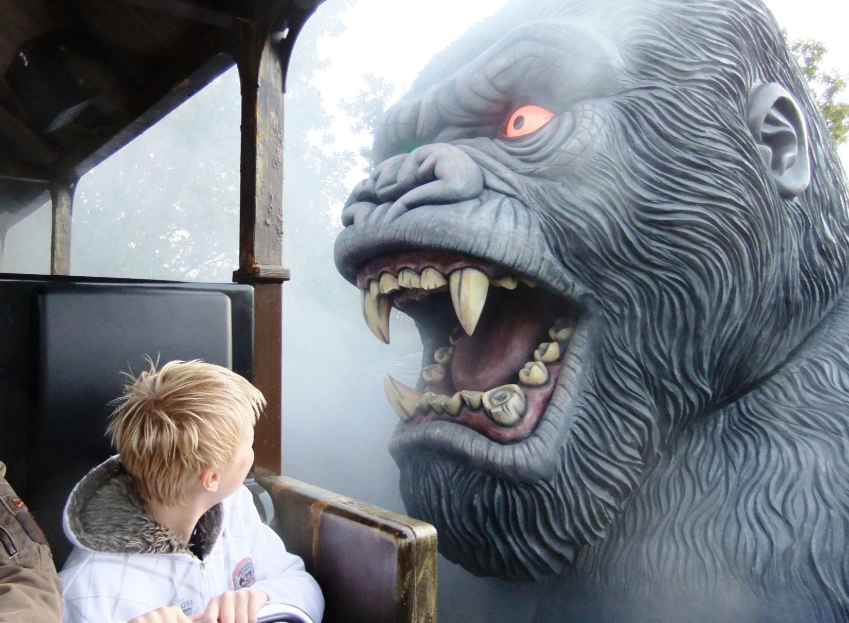 King Kong in Bobbejaanland - Foto: © Adri van Esch