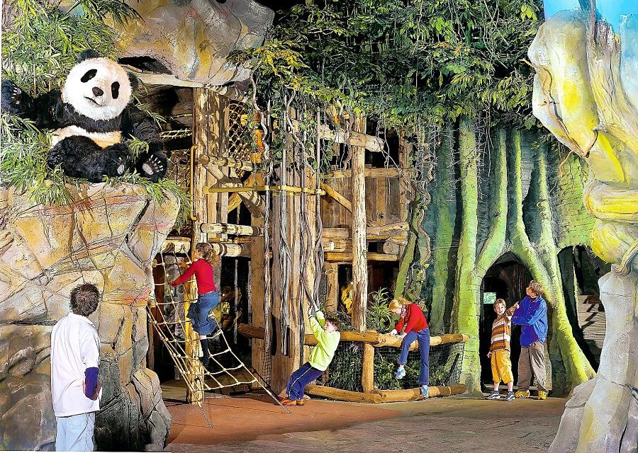 De Dierenwereld in PandaDroom in de Efteling