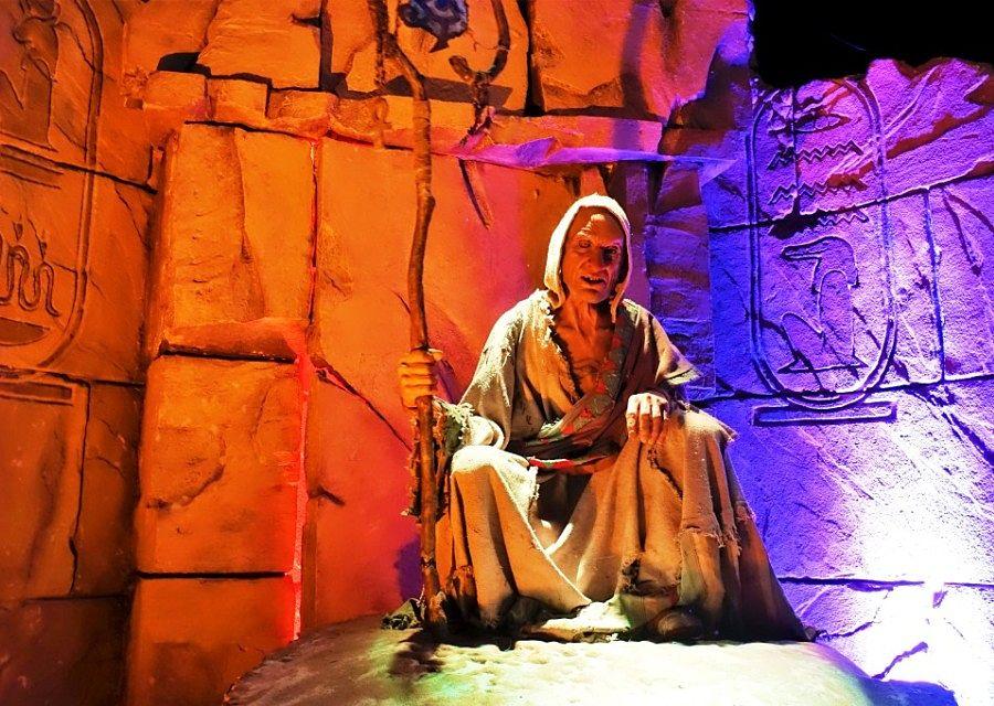 Challenge of Tutankhamon in Walibi Belgium - Foto: © Adri van Esch