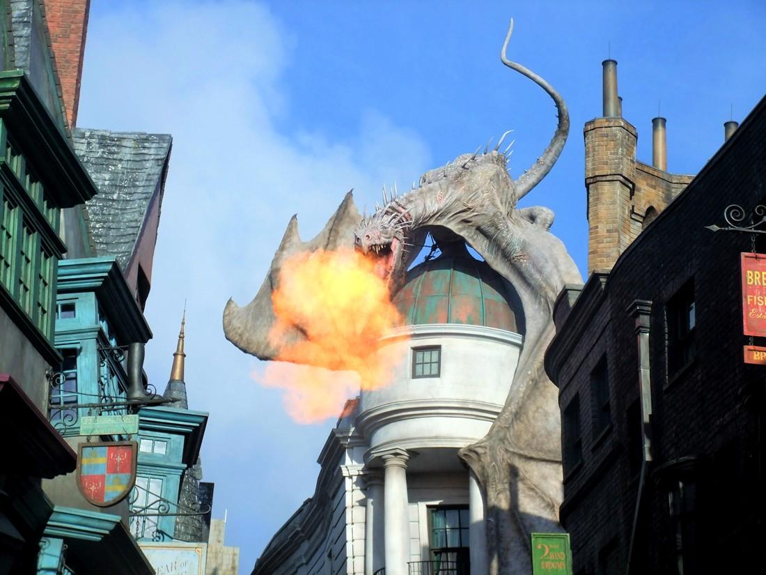 Harry Potter's Diagon Alley in Universal Studios Florida - Foto: (c) Adri van Esch