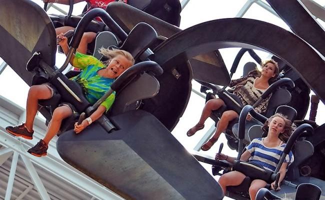 De attractie Sky Fly van Gerstlauer Amusement Rides