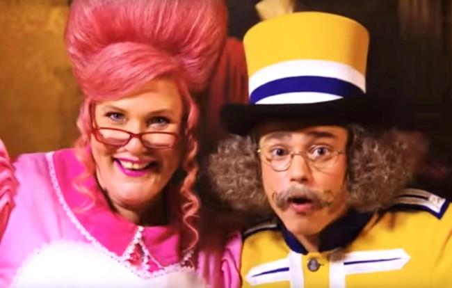 Meneer Kaasgaaf en Mevrouw Suikerspin van Julianatoren