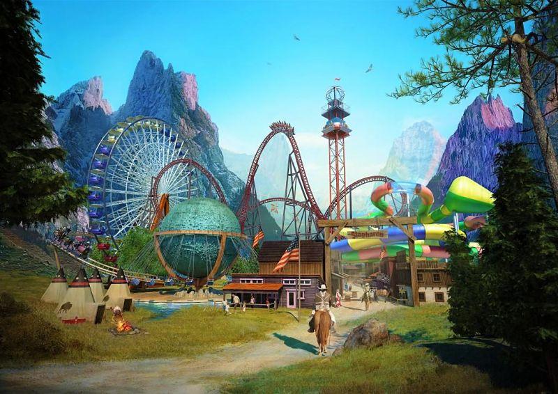 Key visual Attractiepark Slagharen 2017