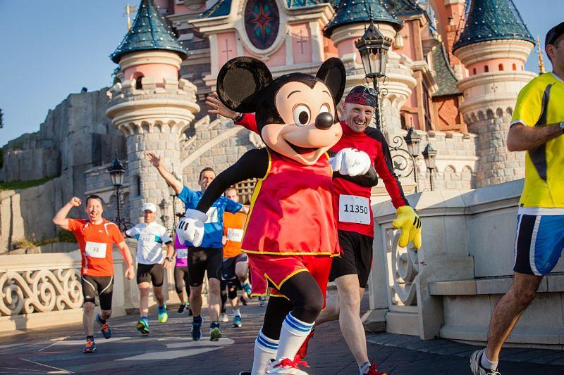 runDisney in Disneyland Paris - Foto: © Disney