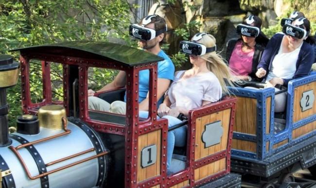De Alpenexpress VR Ride in Europa-Park