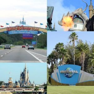 Walt Disney World en Universal Orlando Resort - Foto's: © Adri van Esch