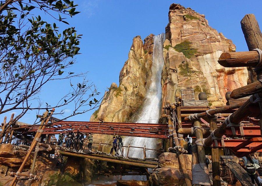 Challenge Trail in Shanghai Disneyland - © Foto: Adri van Esch