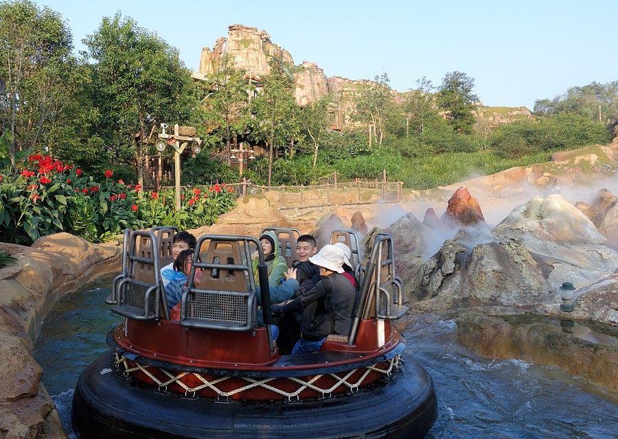 Roaring Rapids in Shanghai Disneyland - © Foto: Adri van Esch