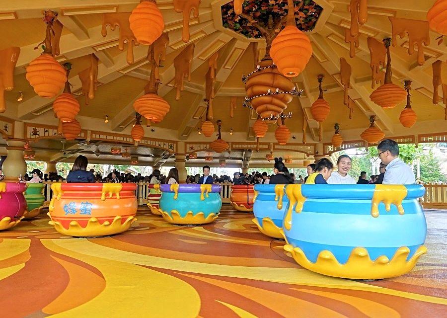 Hunny Pot Spin in Shanghai Disneyland- © Foto: Adri van Esch