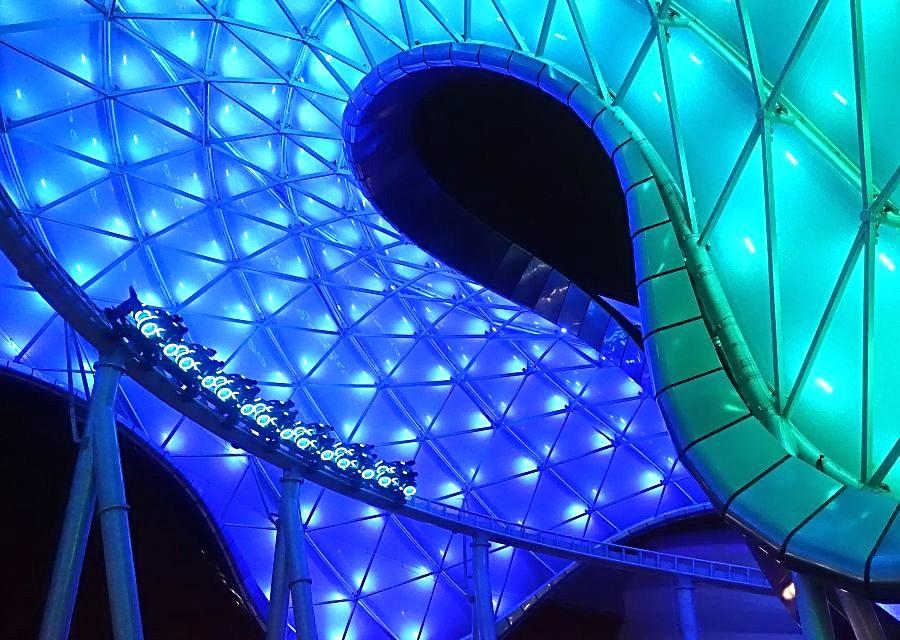 Tron Lightcycle Power Run in Shanghai Disneyland - Foto: © Adri van Esch