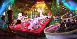 Beauty and the Beast darkride in Tokyo Disneyland - Beeld: © Disney