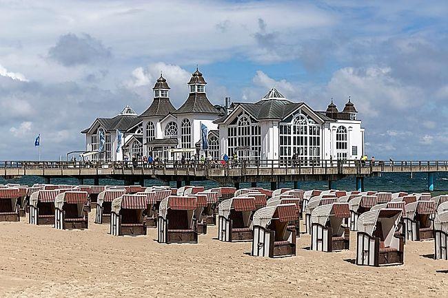 De pier van het Duitse Sellin aan de Oostzee - Foto: Ansgar Koreng (Flickr)