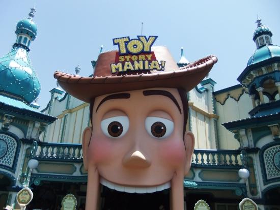 Toy Story Mania in Tokyo DisneySea - Foto: (c) Parkplanet