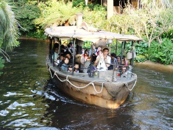 Jungle Cruise in Tokyo Disneyland - Foto: (c) Parkplanet
