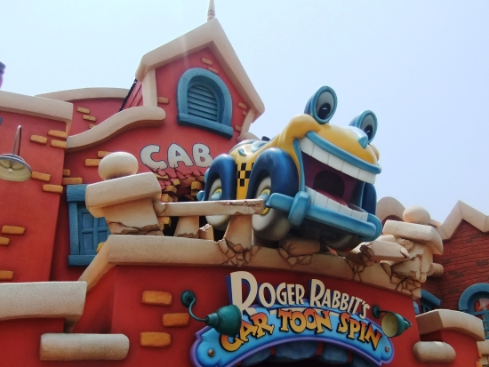 Roger Rabbit in het Toontown van Tokyo Disneyland - Foto: (c) Parkplanet