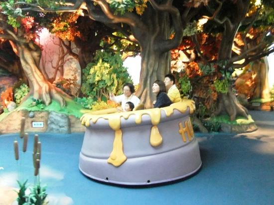 Winnie the Pooh darkride in Tokyo Disneyland - Foto: (c) Parkplanet
