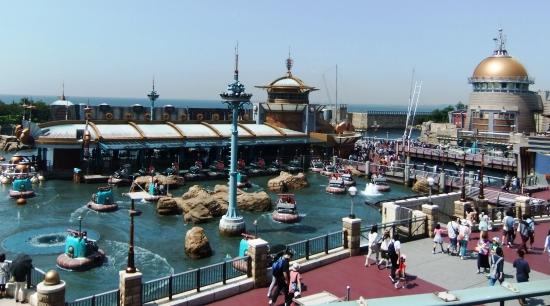 Aquatopia in Tokyo DisneySea - Foto: (c) Parkplanet