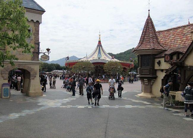 Cinderella Carousel in Hong Kong Disneyland - Foto: © Adri van Esch