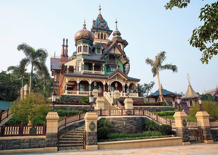 Mystic Manor in Hong Kong Disneyland - Foto: © Disney