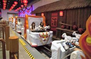 Darkride van Lagotronics in Wanda City in Nanchang, China