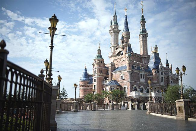 Het kasteel van Shanghai Disneyland - Foto: © Disney