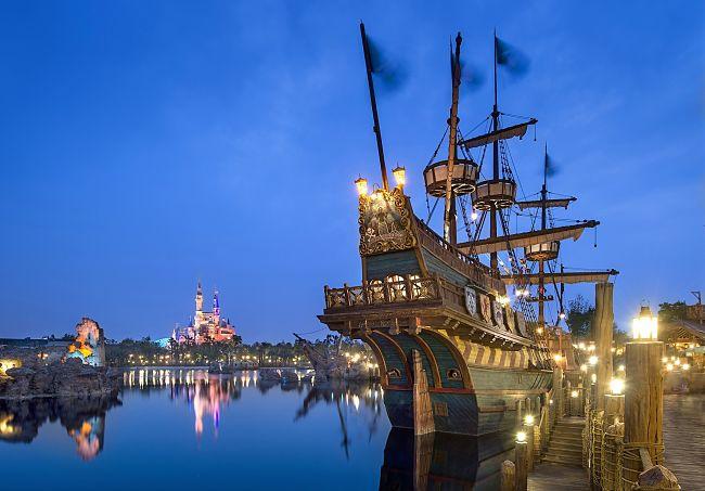 Treasure Cove in Shanghai Disneyland - Foto: © Disney