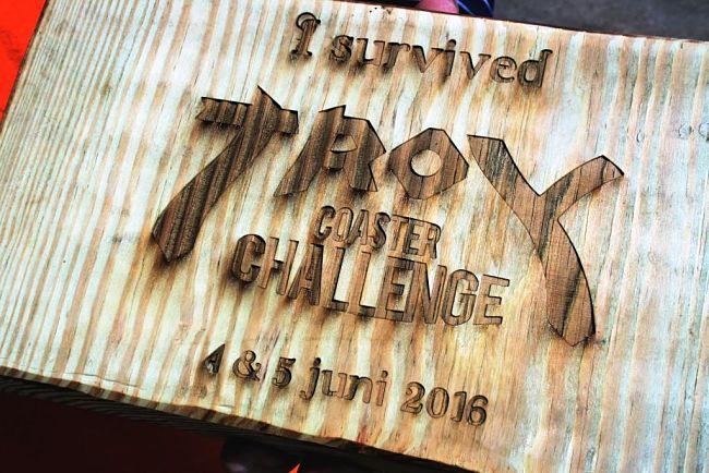 I survived de Troy Coaster Challenge in Toverland - Foto: © Adri van Esch