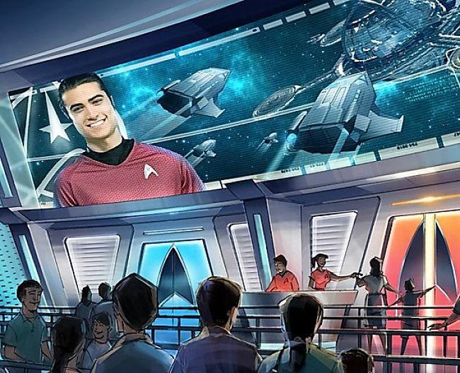 Star Trek in Paramount Park Murcia - Beeld: © Paramount Parks