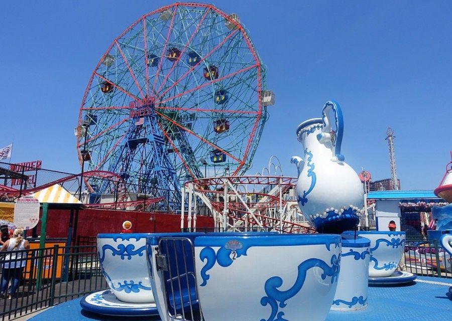 Wonder Wheel op Coney Island - Foto: © Adri van Esch