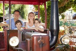 Old Mac Donalds Tractor Fun in het Ierse themaland van Europa-Park